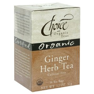 Ginger from Choice Organic Teas