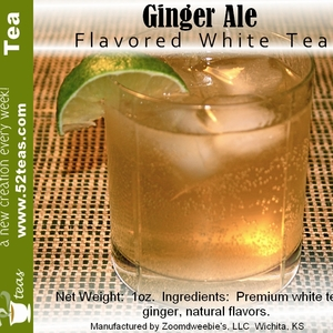Ginger Ale Bai Mu Dan from 52teas