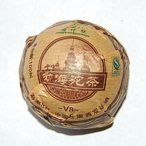2006 Menghai V8 Pu-erh Tuocha from Menghai Tea Factory
