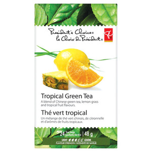 Tropical Green Tea from President&#x27;s Choice