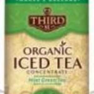 Organic Mint Green Iced Tea Concentrate from Third Street Chai