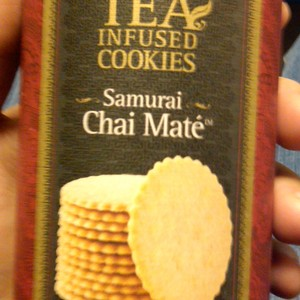 Samurai Chai Mate Tea Cookies from Teavana