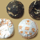 Chrysanthemum Pu Erh Mini Tuocha from Menghai Tea Factory