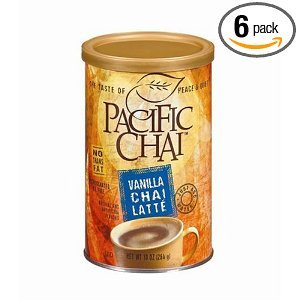 Vanilla Chai Latte from Pacific Chai