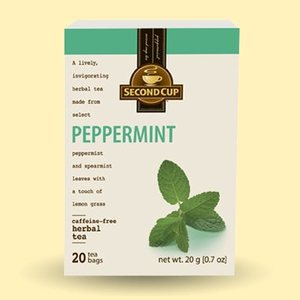 Peppermint Herbal from Second Cup