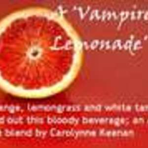 A 'Vampire Lemonade' Tea from Custom-Adagio Teas