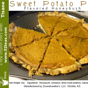 Sweet Potato Pie Honeybush from 52teas