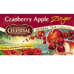 Cranberry Apple Zinger from Celestial Seasonings
