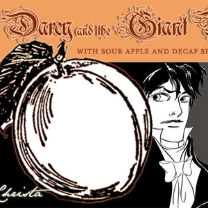 Mr. Darcy and the Giant Peach from Adagio Teas
