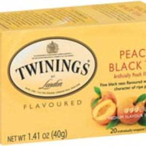 Peach Black Tea from Twinings