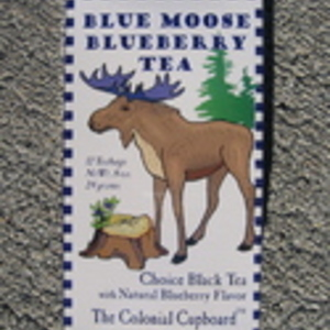 Blue Moose Blueberry Tea from The Colonial Cupboard