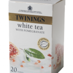 White Tea with a hint of Pomegranate from Twinings