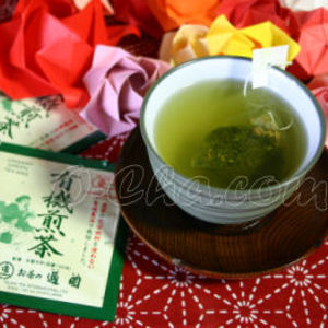 Organic Green Tea Bags from Uji, Japan, Tsuen Tea Shop from O-Cha.com