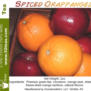 Mellie's Spiced Orappangele from 52teas