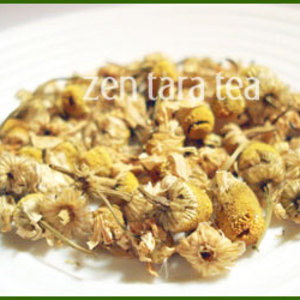 Organic Golden Chamomile Botanical Tea from Zen Tara Tea