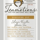 Discover Joy - Lemon Vanilla Green Tea from Teamotions