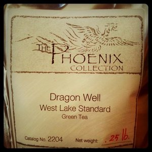 Dragon Well West Lake Standard Green Tea from The Phoenix Collection