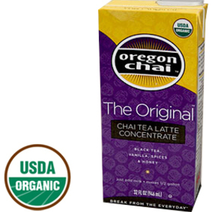 The Original Chai Tea Tea Latte Concentrate from Oregon Chai