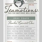 Seek Peace - Rooibos Coconut Chai from Teamotions