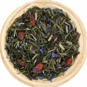 Pomegranate Goji Sencha  Green Tea from Tealish