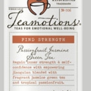 Find Strength - Passionfruit Jasmine Green Tea from Teamotions