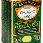 Organic Mandarin Orange Green Tea from St. Dalfour