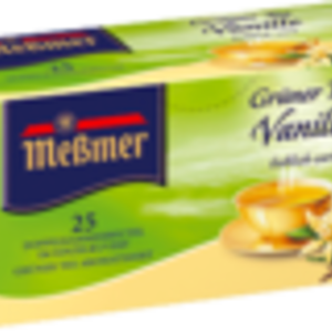 Green Tea with Vanilla from Meßmer