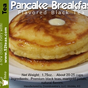Pancake Breakfast Black Tea from 52teas
