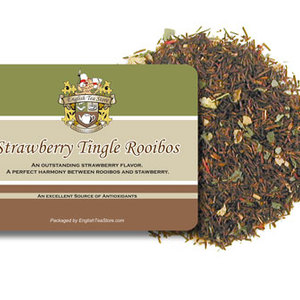 Strawberry Tingle Rooibos from English Tea Store