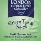 Green Tea & Peach from London Fruit & Herb Teas