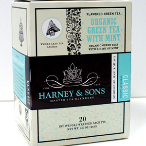 Organic Green Tea with Mint from Harney & Sons