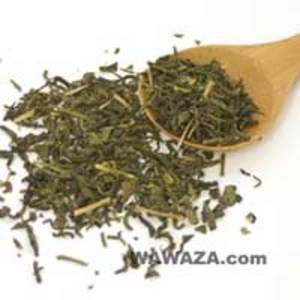 100% Organic Japanese Bancha Green Tea - Kamairicha from Wawaza.com