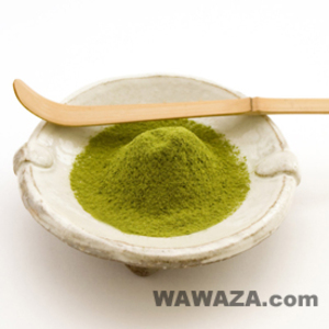 Matcha Organic Powdered Green Tea - Japanese Kamairicha from Wawaza.com