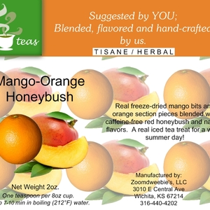Mango-Orange Honeybush from 52teas