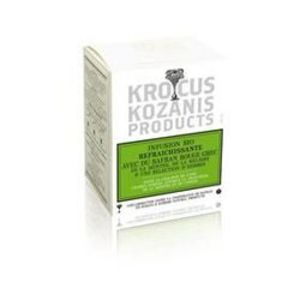 Organic refreshing herbal tea with Greek red saffron from Krocus Kozanis Products