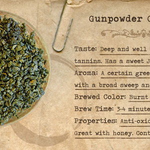 Organic Gun Powder Green Tea from Mountain Rose Herbs
