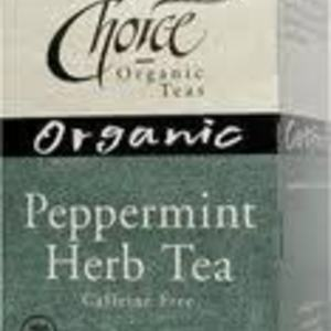 Peppermint Herb Tea from Choice Organic Teas