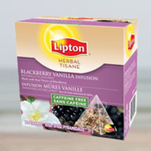 Blackberry Vanilla Infusion from Lipton