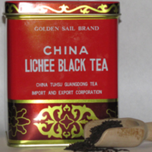 China Lichee Black Tea from Golden Sail Brand