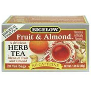 Fruit and Almond Herbal Tea from Bigelow