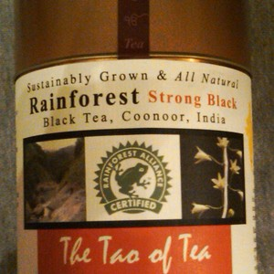 Rainforest Strong Black Tea from The Tao of Tea