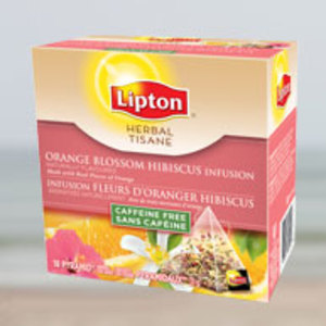 Orange Blossom Hibiscus Infusion from Lipton