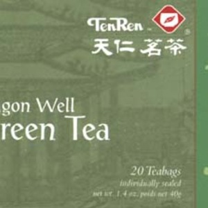 Dragon Well Green Tea (bags) from Ten Ren