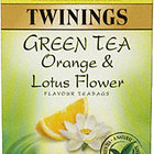 Green Tea with Orange and Lotus Flower from Twinings