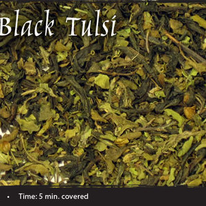 Breakfast Black Tulsi from Shanti Tea