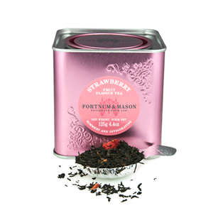 Black Tea with Strawberry from Fortnum & Mason