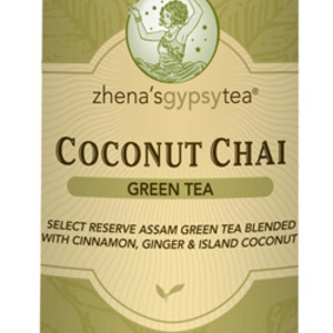 Coconut Chai Green Tea from Zhena&#x27;s Gypsy Tea