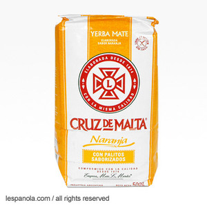 Orange Flavoured Yerba Mate from Cruz de Malta