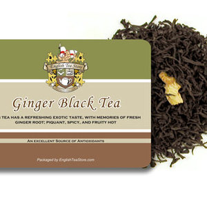 Ginger Black from English Tea Store