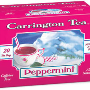 Peppermint from Carrington Tea
